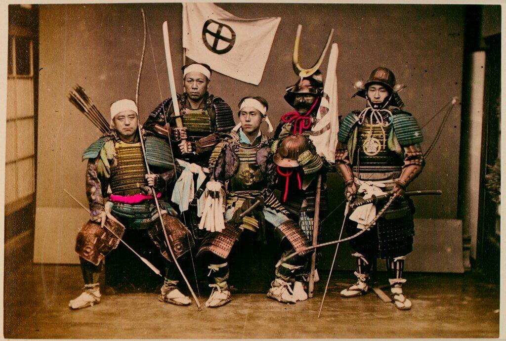 как самураи