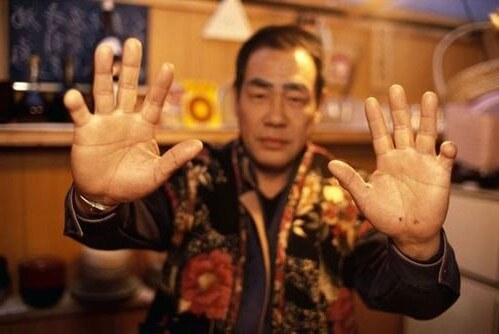 Якудза палец
