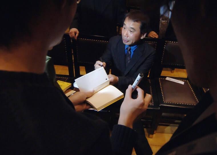 Харуки Мураками пишет без плана