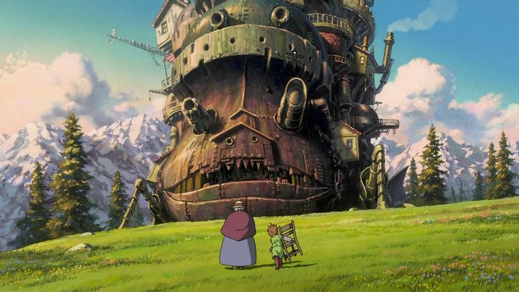 мультфильм Хаяо Миядзаки ходячий замок