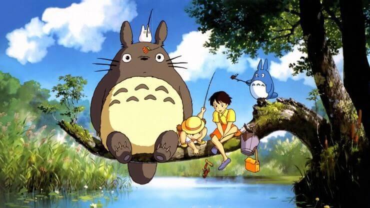 мультфильм Хаяо Миядзаки мой сосед тороро
