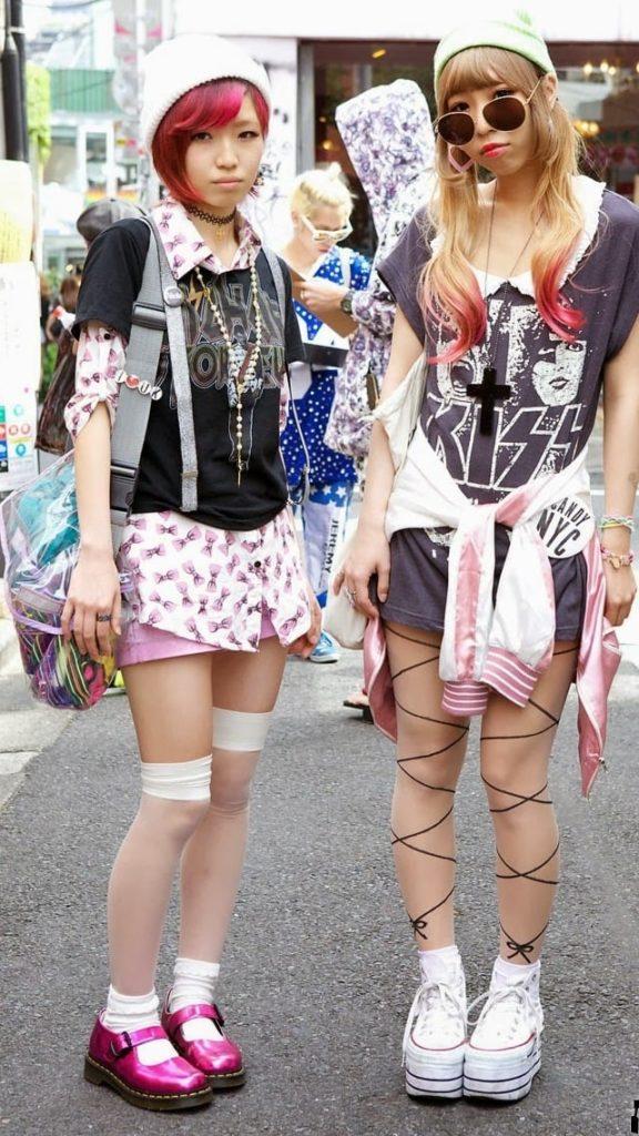 Харадзюку мода Японии