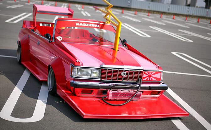 босодзоку красная машина