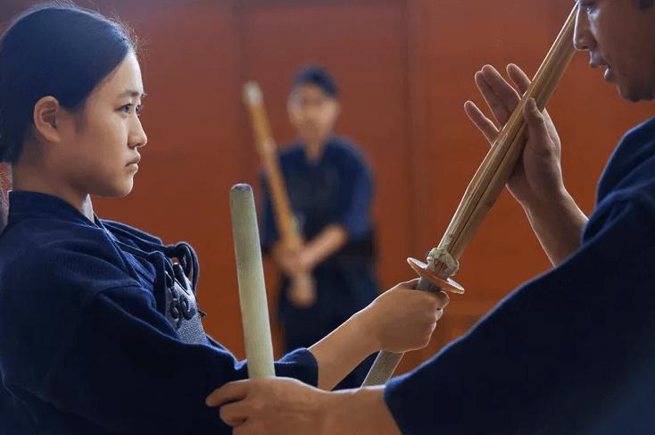 Боевые искусства Японии женщина