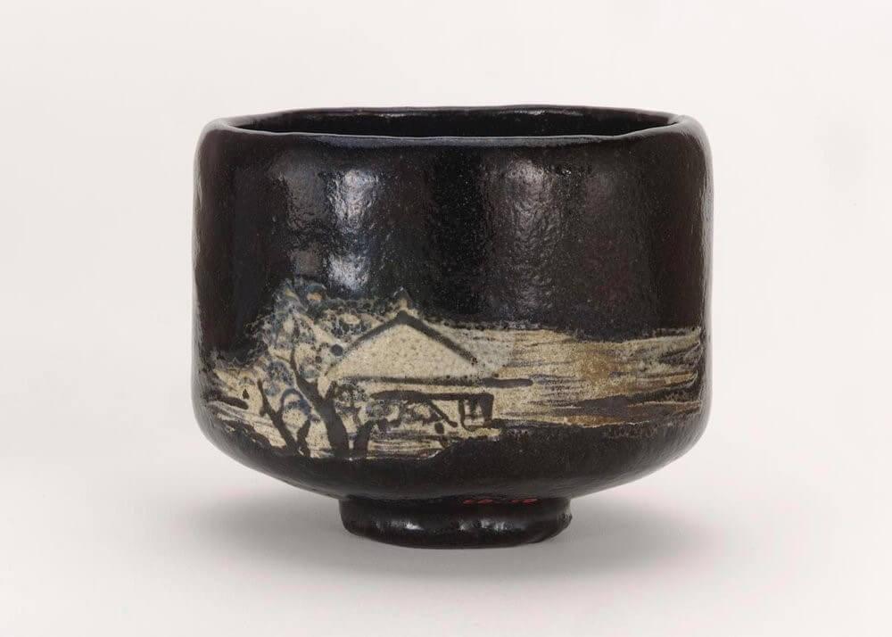 Ваби саби глиняная чаша