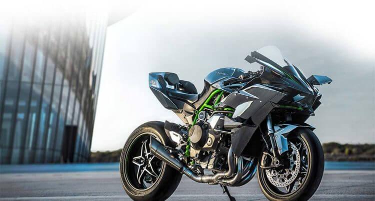 Мотоциклы Кавасаки ниндзя х2