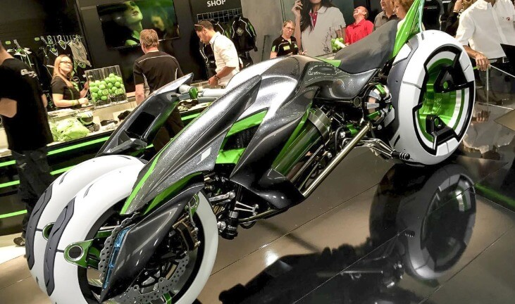Мотоциклы Кавасаки из будущего