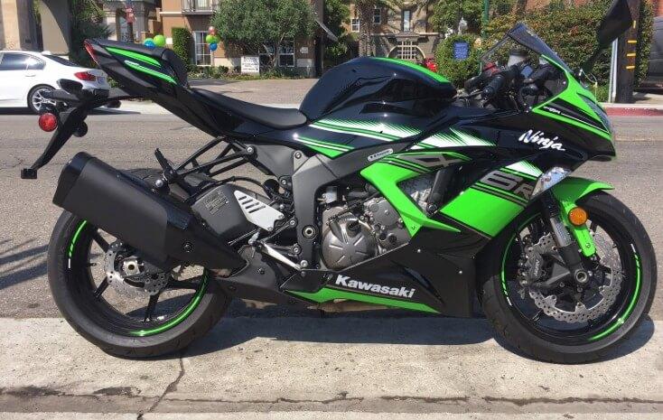 Мотоциклы Кавасаки ниндзя 1000